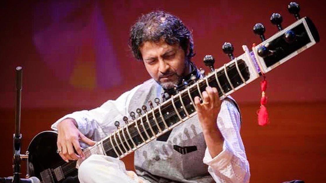 Sitar lessons with Abhik Mukherjee