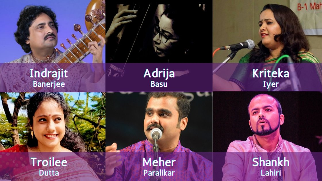 Thursday Evening Ragas: Artist curated session 12