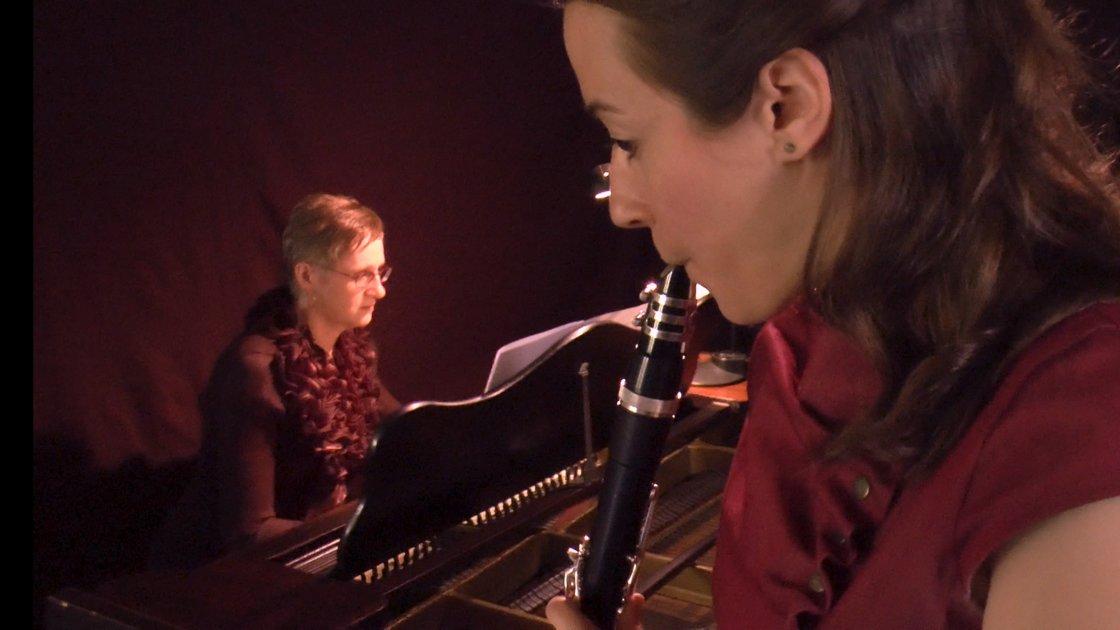 """""""4 mélodies pour clarinette & piano"""": Filmed concert to stream when you want / Concert filmé à voir quand vous voulez!"""