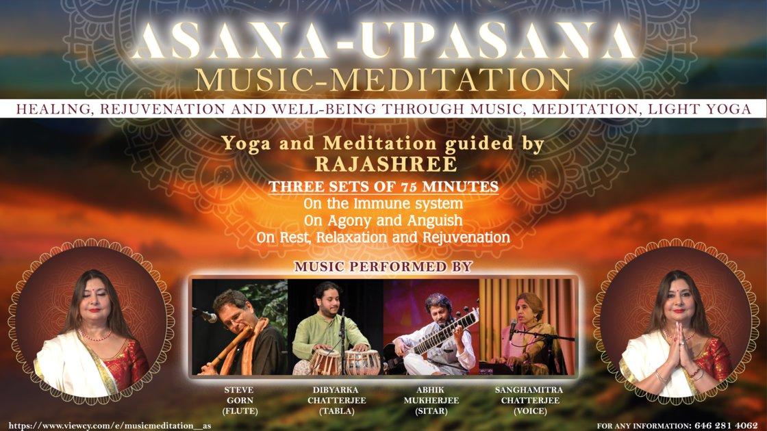 Music-Meditation : Asana-Upasana