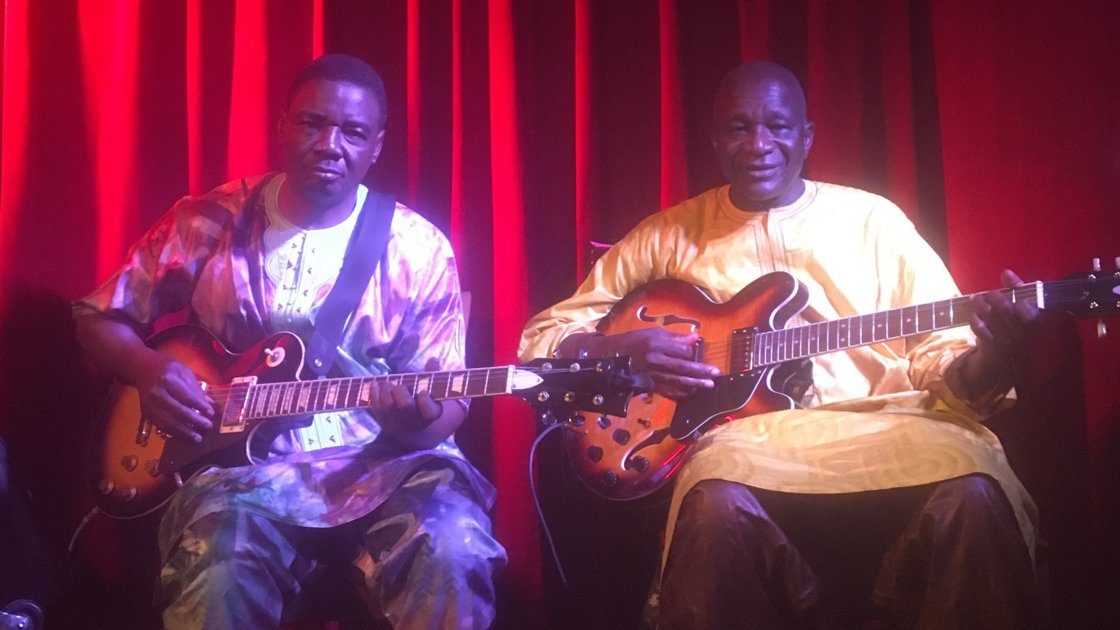 Mamady Kouyate's MANDINGO AMBASSADORS