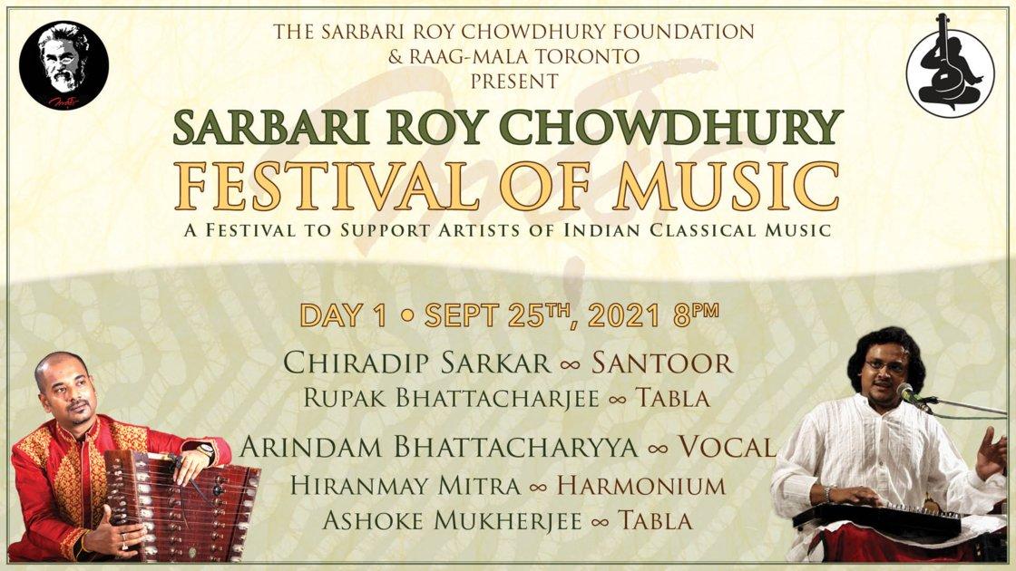 Sarbari Roy Chowdhury Festival • Day 1