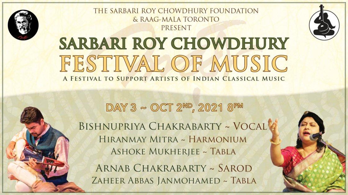 Sarbari Roy Chowdhury Festival • Day 3