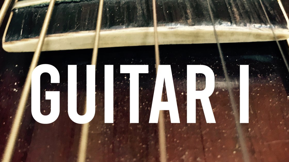 Guitar I - In Person Group Classes with Isto