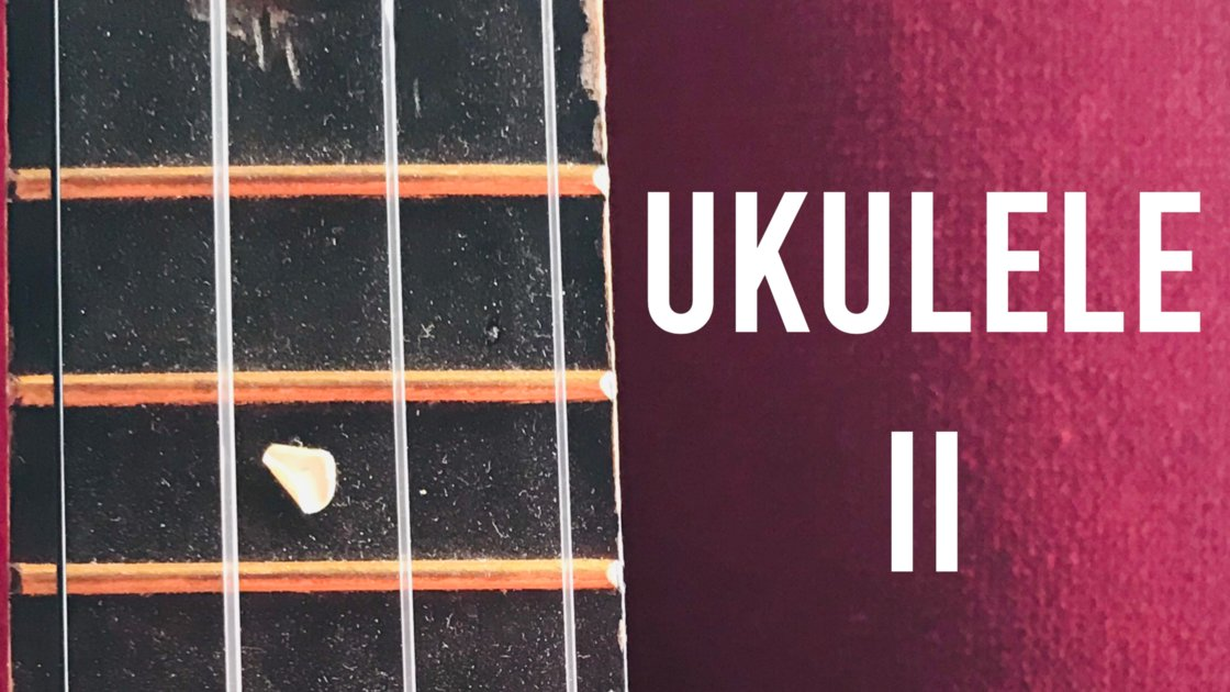 Ukulele II -  An 8 Week Online Class on Zoom with Doug Skinner