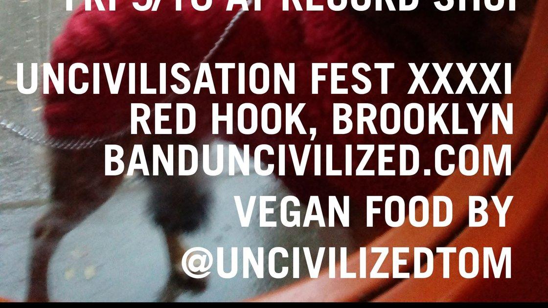Uncivilsation Festival 2021: Uncivilized Tom at Jalopy