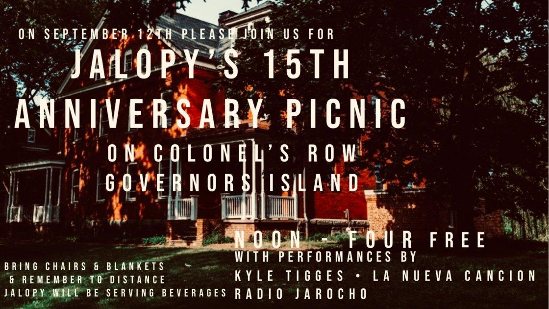 Jalopy's 15 Year Anniversary Picnic