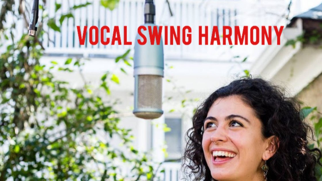 Vocal Swing Harmony - In Person Group Classes with Katie Martucci