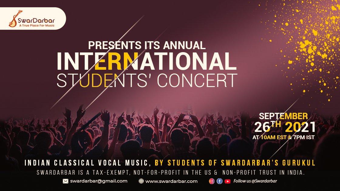 2021 Swardarbar Annual International Students' Concert