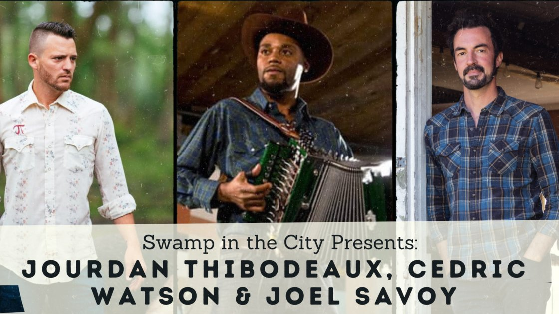 Saturday Night Cajun/Creole Dance Party with Jourdan Thibodeaux et les Rôdailleurs! IN PERSON and STREAMING