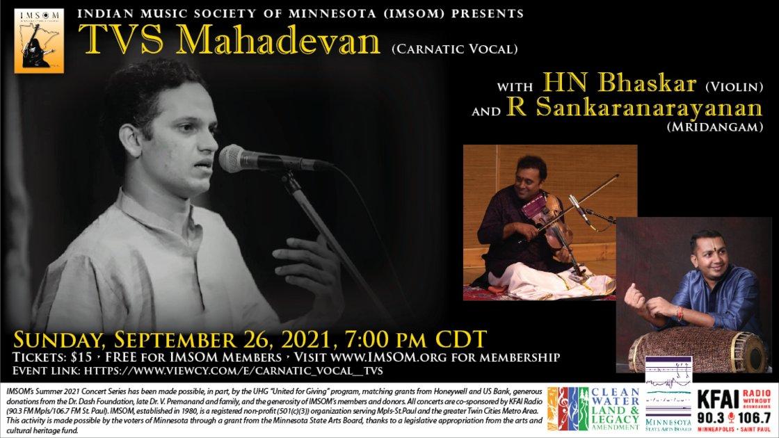 Carnatic Vocal - TVS Mahadevan