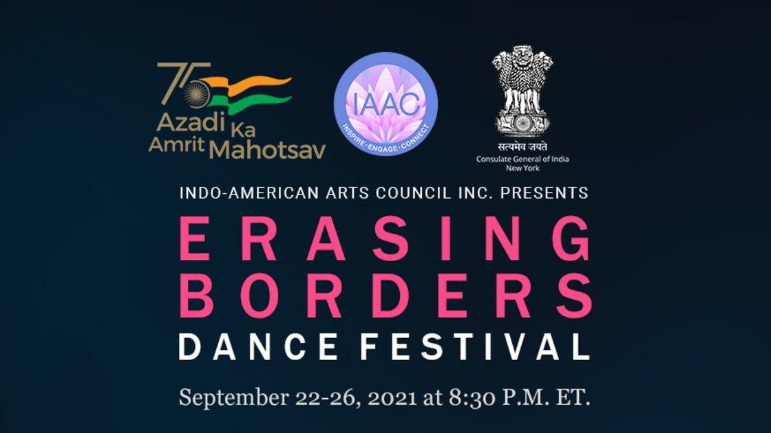 ERASING BORDERS DANCE FESTIVAL 2021 - DAY 1