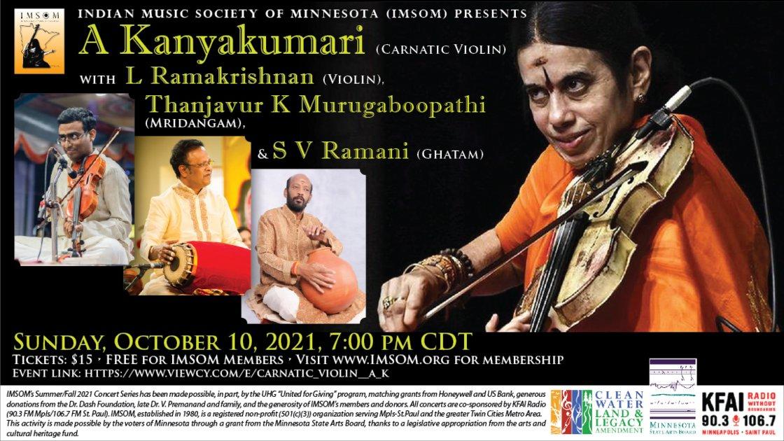 Carnatic Violin - A Kanyakumari and L Ramakrishnan