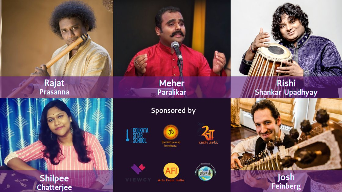 Thursday Evening Ragas: Artist curated session 27