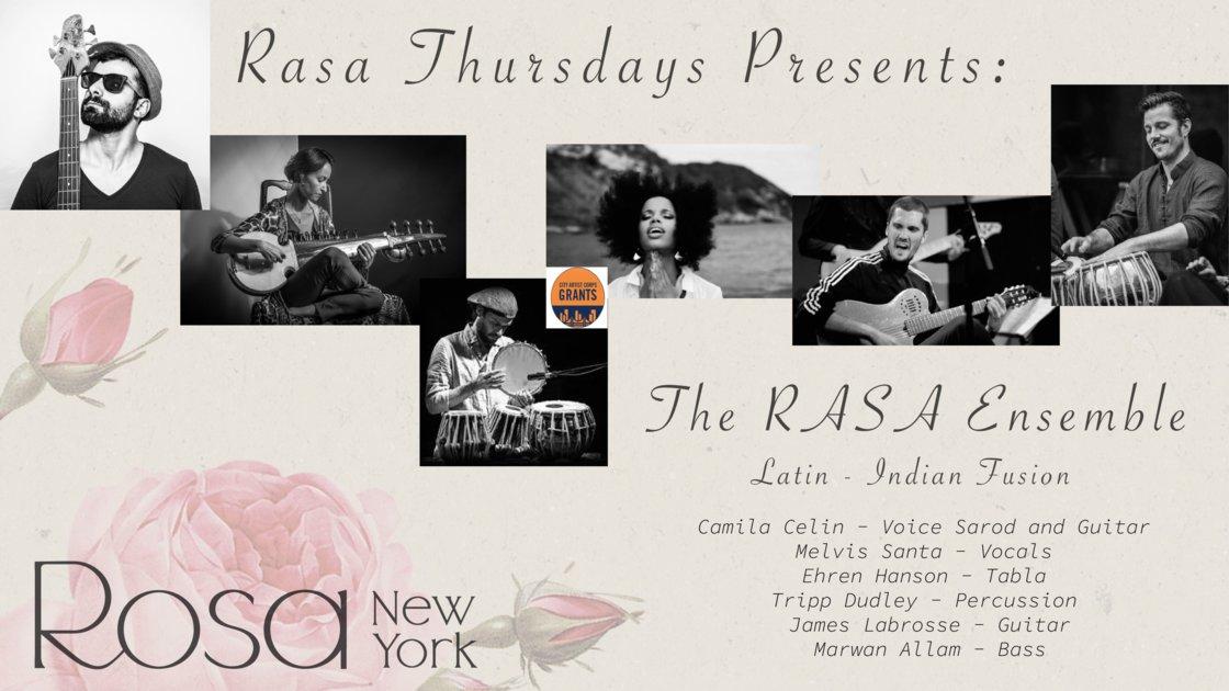 RASA Thursdays Present: The RASA Ensemble!