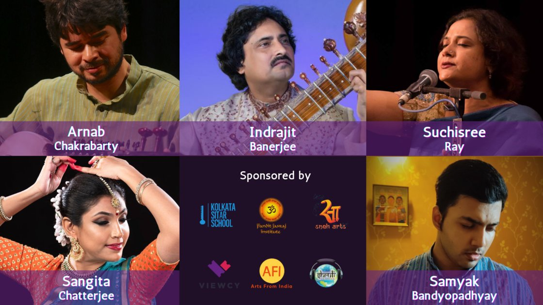 Thursday Evening Ragas: Artist curated session 28